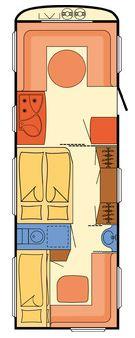 grundriss mit 3er stockbett kaufberatung wohnwagen. Black Bedroom Furniture Sets. Home Design Ideas
